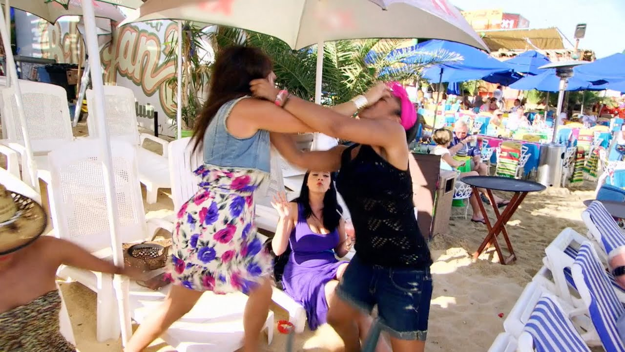 Mehgan vs. Rima (Round 3) - Bad Girls Club (Season 9)