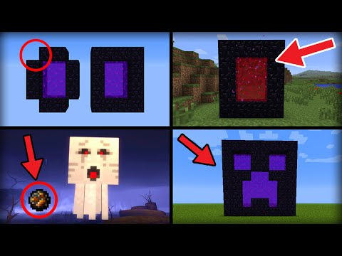 ✔ Minecraft: 10 Things You Didn't Know About the Nether Portal