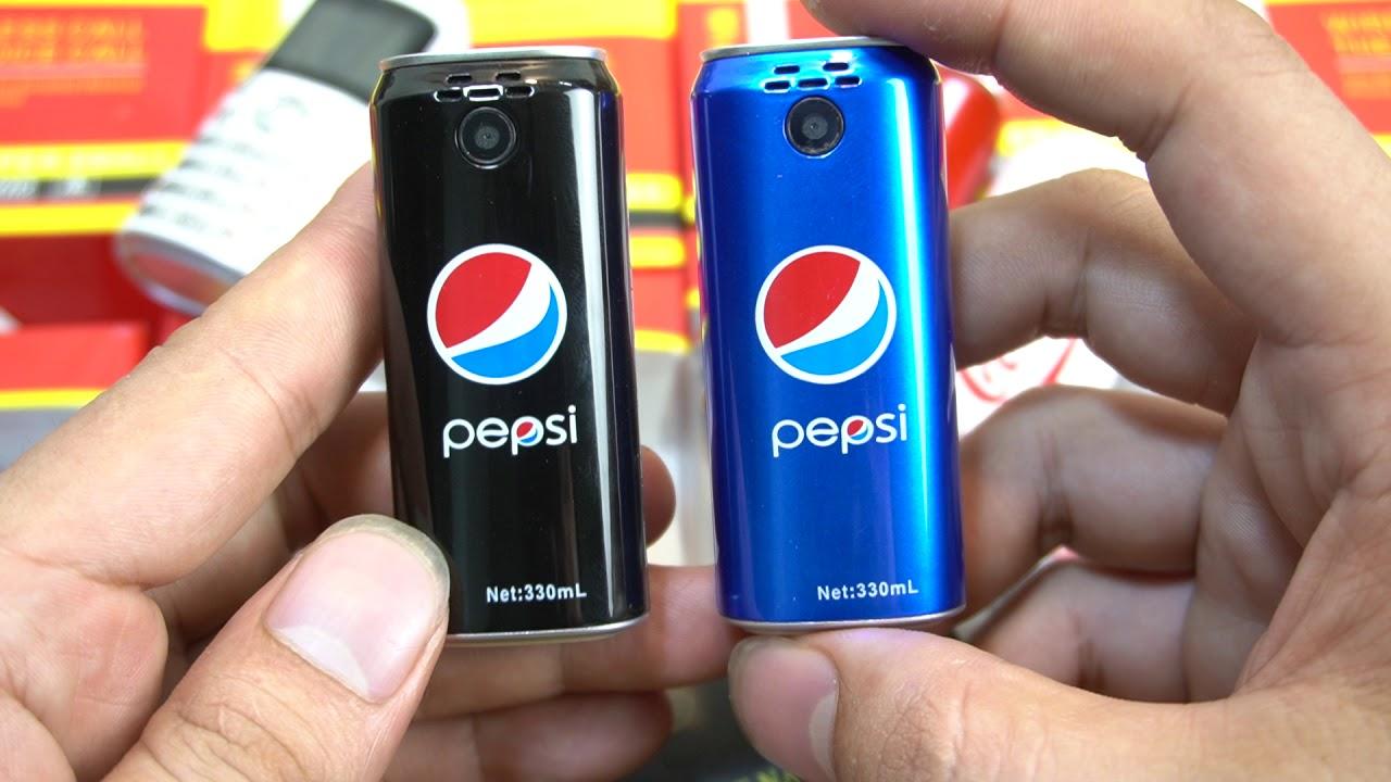 Điện Thoại PESSI Và Coca-Cola Độc lạ nhiều tính năng trên máy mời mọi người khám phá