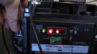 12v Solar power battery backup system, shtf