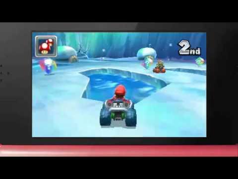 mario kart 7 trailer at nintendo 3ds conference 2011 youtube. Black Bedroom Furniture Sets. Home Design Ideas