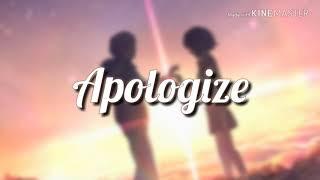Apologize - Loving Caliber Ft. Sara Pumphrey [Lyrics/Lyric Video]