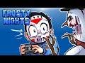 Frosty Nights Ep. 2 - MELT THE SNOWMAN! (Glitchy Jumpscare!) Night 3 & 4!