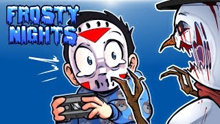 Frosty Nights Ep. 2 - MELT THE SNOWMAN! (Glitchy Jumpscare!) Night 3 & 4!