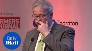 New Zealand's EU ambassador chokes up over Christchurch attacks