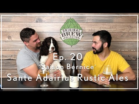 Ep. 20: Craft Beer Review - 'Saison Bernice' by Sante Adairius Rustic Ales