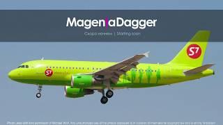 A320   Франкфурт - Женева   EDDF - LSGG   Vatsim