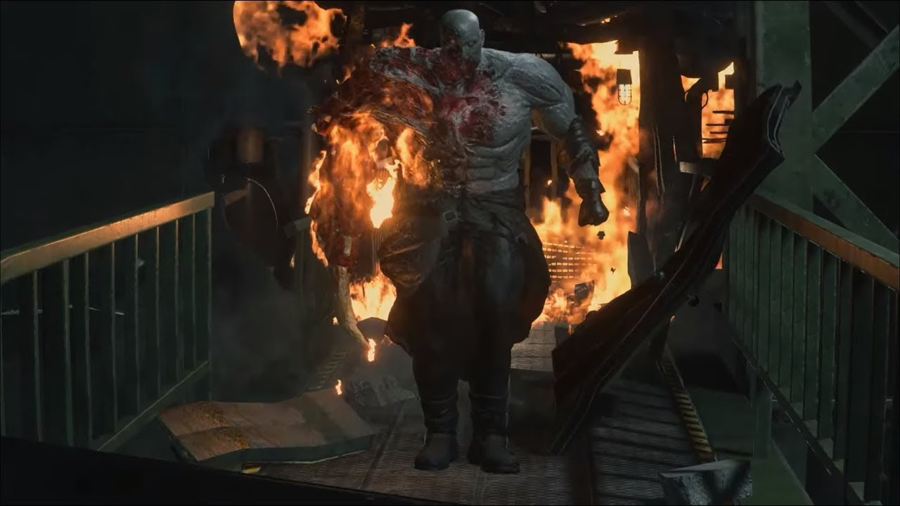 Super Tyrant Mr X Final Boss Fight Resident Evil 2 Remake