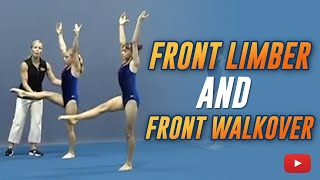 Front Limber and Front Walkover - Gymnastics Lessons from Amanda Borden