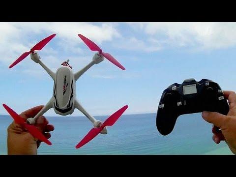 Hubsan H502E Beginners GPS Camera Drone Lake Erie Flights
