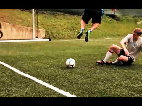 How to Slide Tackle | Soccer Lessons