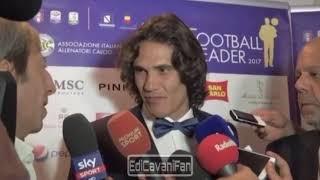 """Edinson Cavani: """"Se un giorno dovessi tornare in Italia, tornerei solo al Napoli"""""""