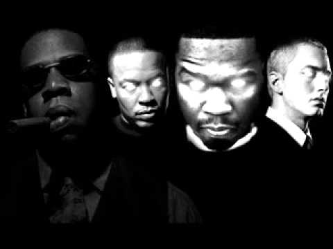Syllables Eminem ft Dr Dre, 50 Cent & JayZ