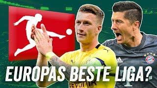 Ist die Bundesliga die beste Liga in Europa? Warum sind deutsche Teams plötzlich wieder gut?