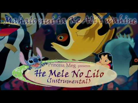 He Mele No Lilo ~ KARAOKE Instrumental   Ready