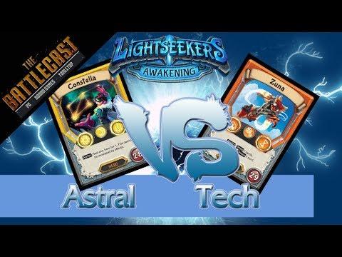 Lightseekers TCG Gameplay - Constella vs Zuna