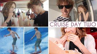 Surfing, Milkshakes & Burgers • Cruise Vlogs {Day 2} Thumbnail