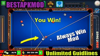 APK MOD 8 BALL POOL MOD UNLIMITED EXTENDED GUIDELINE
