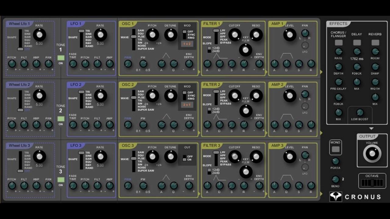 Free Roland Gaia Synthesizer Vst Emulation Youtube