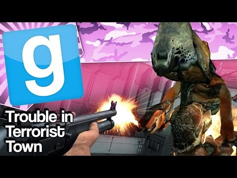 THERE'S AN ALIEN | Gmod TTT