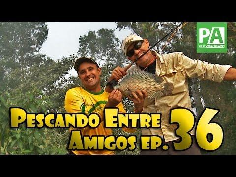 Pescando Entre Amigos -- Ep. 36 -- Pesqueiro Centro de Pesca Taquari