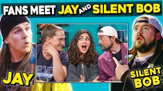 Adults React To And MEET Jay And Silent Bob (Kevin Smith and Jason Mewes)