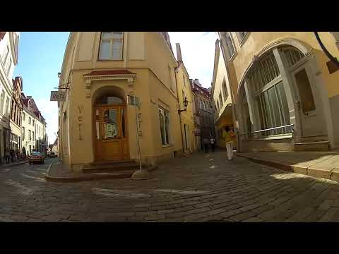 morning ride to office via old tallinn 04.07.2012