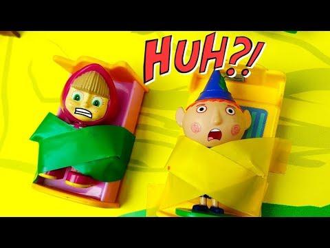 PUNTATA DI BEN E HOLLY ITALIANO CON TOPOLINO E MASHA - Uno scherzo per Peppa Pig e Ben , giocattoli