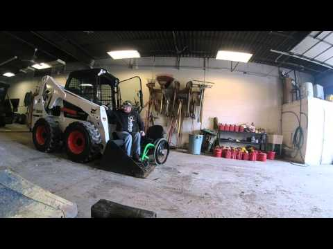 Wheelchair Transfer into skidsteer