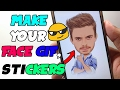 How To Make Your Face GIF, Animated Stickers With Android 2017😎
