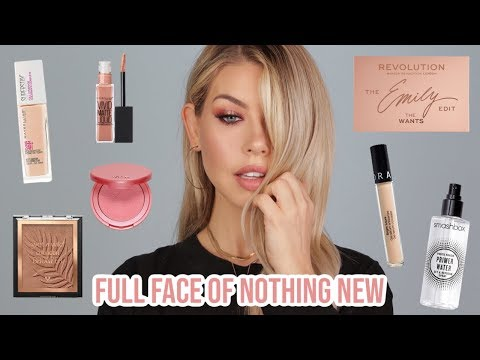FULL FACE OF NOTHING NEW (I'M OBSESSED WITH THIS!) | BrittanyNichole thumbnail