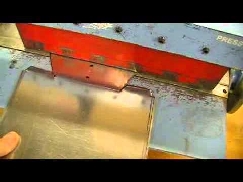 Sheet Metal Tray