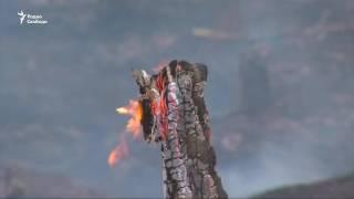 Лесные пожары в Иркутской области в России(Сейчас в Иркутской области в России из девяти лесных пожаров, локализованы четыре, пять распространяются...., 2016-06-09T16:51:51.000Z)