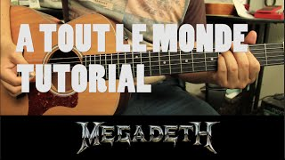 "Video Como tocar "" A Tout Le Monde"" de Megadeth - Tutorial Guitarra (HD) download MP3, 3GP, MP4, WEBM, AVI, FLV November 2017"