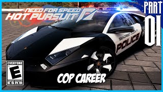 【Need for Speed: Hot Pursuit】 Cop Career Gameplay Walkthrough Part 1 [PC - HD]