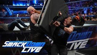 HINDI - Erick Rowan & Luke Harper ne attack kiya Roman Reigns & Daniel Bryan ko: SmackDown LIVE