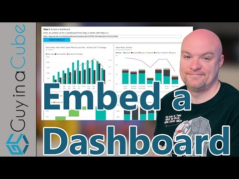 Embed A Dashboard From Power BI Into Your Application