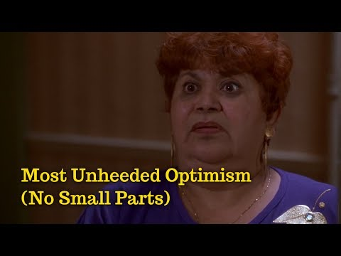 No Small Parts  Most Unheeded Optimism Lupe Ontiveros, As Good as It Gets