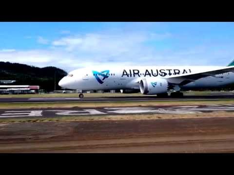 Air Austral Boeing 787-8 Flight test Mayotte