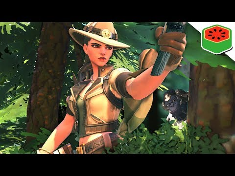 Ashe HUNTS Winstons! | Overwatch (Custom Game)