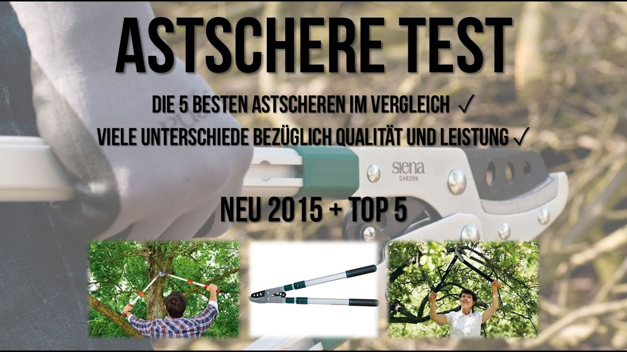 astschere test die 5 besten astscheren im test youtube. Black Bedroom Furniture Sets. Home Design Ideas
