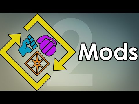 Destiny 2: An Introduction to Mods & How They Work