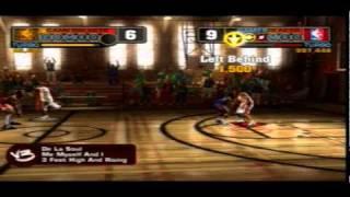 NBA Street V3 PS2 Gameplay