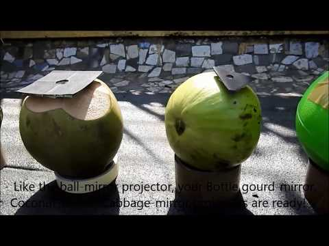 Ball-mirror Projector To Watch Solar Eclipse