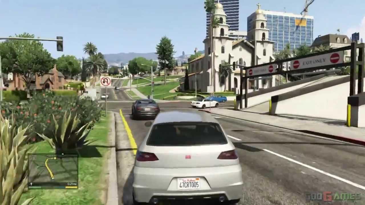 GTA V PS3 Gameplay / Walkthrough / Playthrough / 1080P Part 18 - Friend Request - YouTube