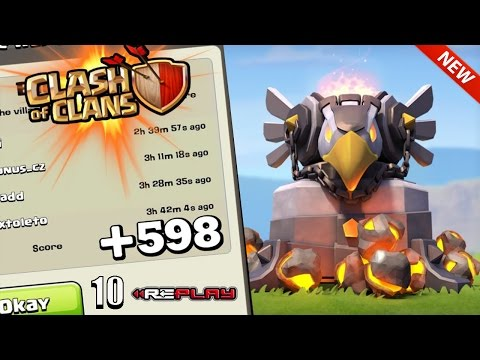 Clash Of Clans - TH11 WAR BASE /TROLL BASE/ ANTI 2 STAR/ VIEWER REQUESTED DESIGN/ 10 REPLAYS