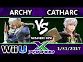 S@X 187 - Archy (Sheik) Vs. Catharc (Robin) - SSB4 Tournament - Smash for Wii U - Smash 4