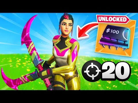 *SECRET* Fortbytes Skin UNLOCKED! (20 Elims)