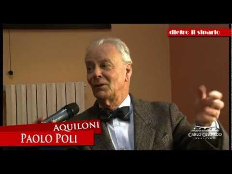 Teatro Gesualdo: Paolo Poli per dietro il sipario