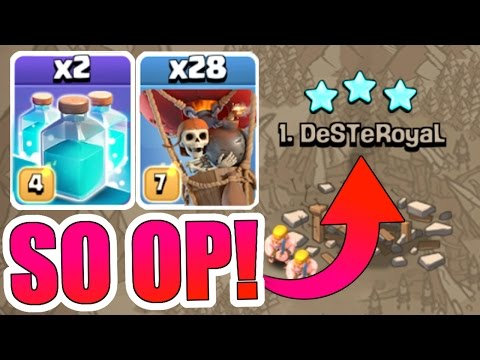 OMG!! LUCKIEST 3 STAR OF MY LIFE!! - Clash Of Clans AIR STRIKES BACK!